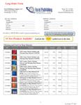 Wholesale Order Form Forel Publishing Order Form